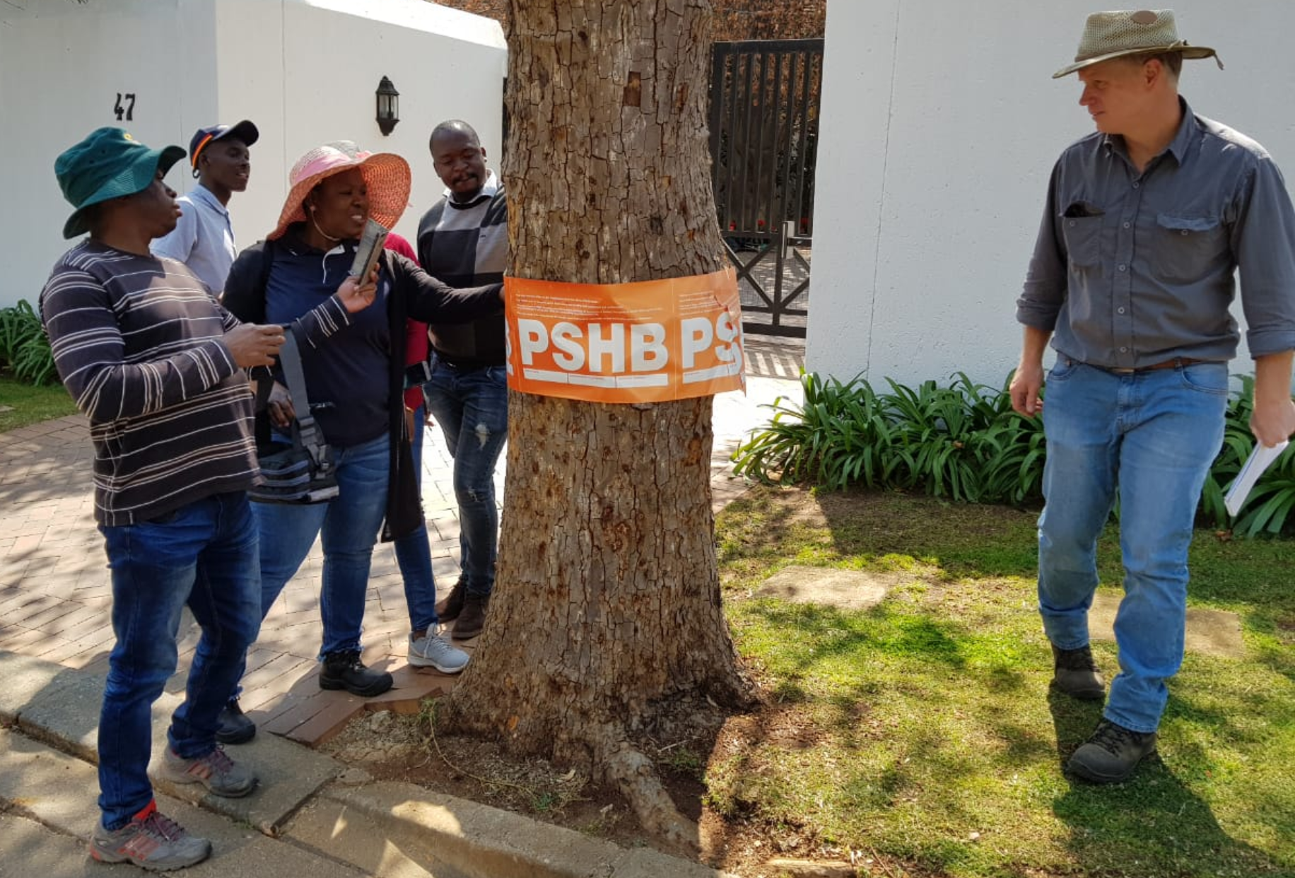 PSHB DAFF Plant Inspectors